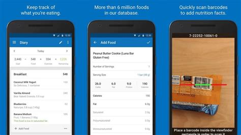 myfitnesspal android app 15 best android fitness apps and workout apps android authority