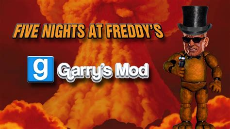 free five nights at freddy s garry s mod game garry s mod five nights at freddy s gamemode