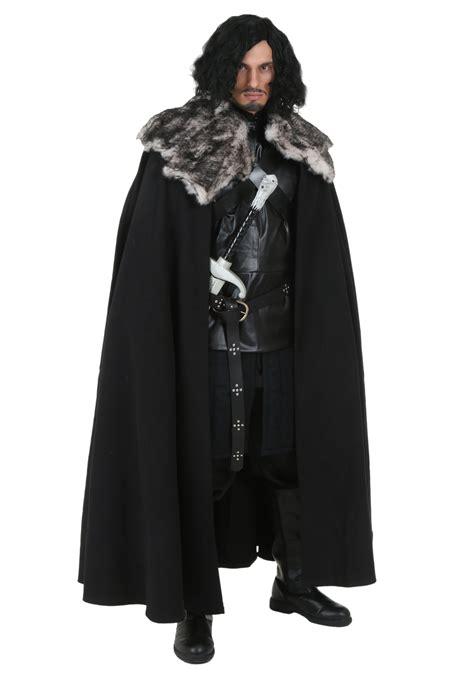 of thrones costume of thrones replica jon snow costume
