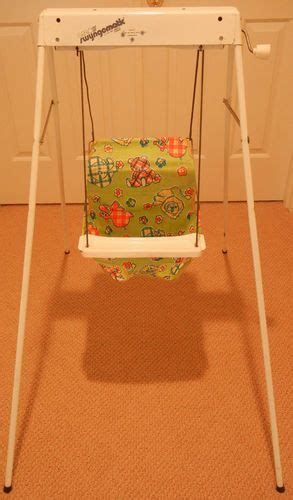 old school baby swing blame kid and i survived on pinterest