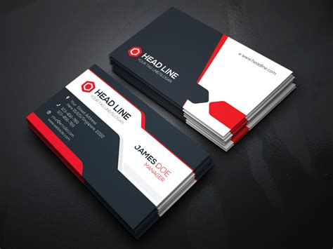 business card template for visiting card template