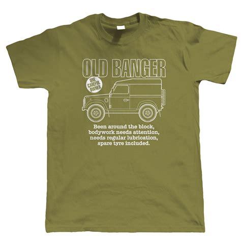 Tshirt Land Rover 7 banger mens land rover t shirt green laning 4x4