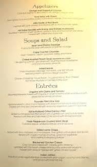 eurodam menu rembrandt dining room