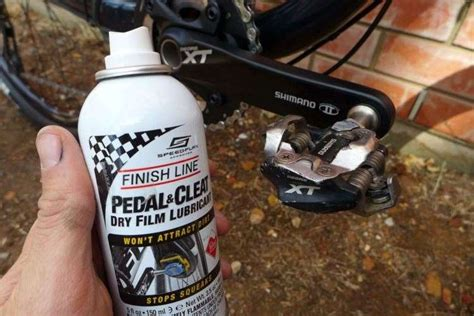 Finish Line Pedal Cleat Lubricant how to clean your bike australian mountain bike the