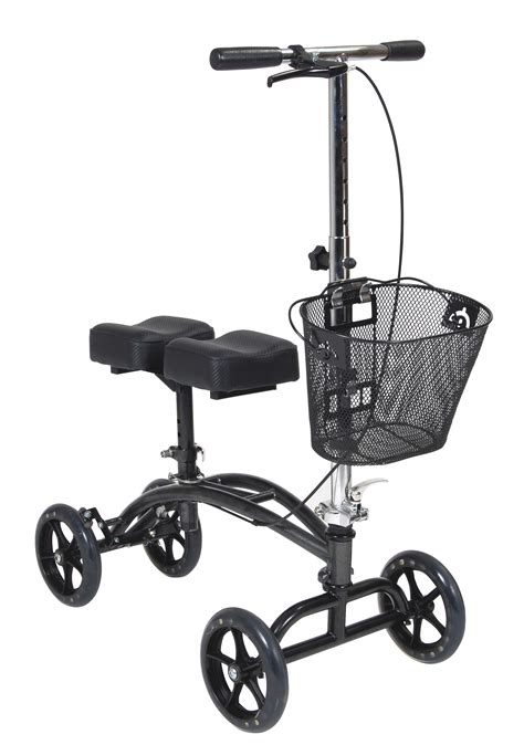walkers for seniors with seat near me dual pad steerable knee walker with basket drive