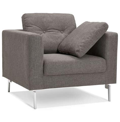 fauteuil moderne 1 place fauteuil de salon 1 place sixty mini en tissu gris tr 232 s