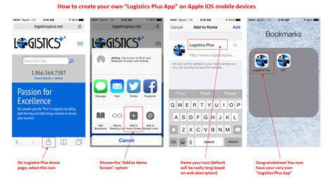 Design Your Own Mobile Home App Create Your Own Logistics Plus Mobile App Logistics Plus