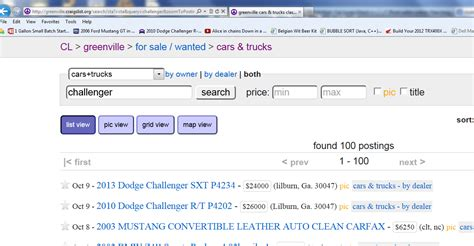 7 Tips On Buying Stuff From On Craigslist by Tips For Buying Cars Of Craigslist Car Direct