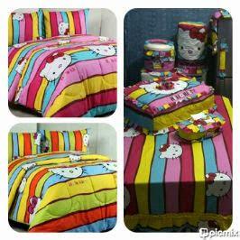 Seprai Motif Baru By Kintakun Polkadot Rainbow suci gallery suci handayani gudang grosir supplier toko hello jual