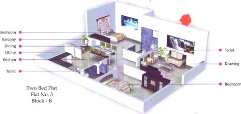 1096 Sq Ft 2 Bhk 2t Apartment For Sale In Corn Wall 1096 Sq Ft 2 Bhk