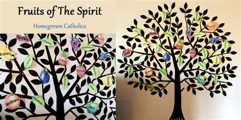 fruit of the spirit tree homegrown catholics st brigids academy forever
