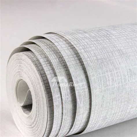 modern  woven fabric linen greyyellowwhite wallpaper