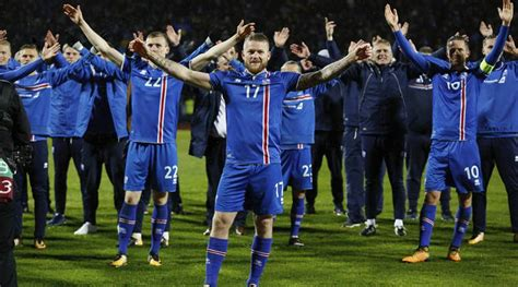 iceland world cup iceland become smallest country to qualify for 2018 fifa