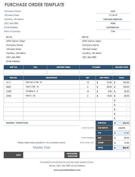 Order Cost Card Template by 15 Free Work Order Templates Smartsheet