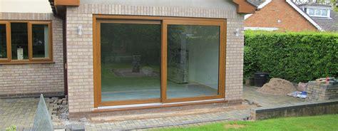 Brown Patio Doors Glass Doors Oxford Windows A C Windows And Doors