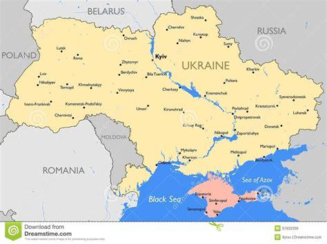 ukraine map vector ukraine map stock vector image of political province