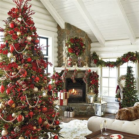pictures of christmas decorations in homes christmas decorating trends 2017
