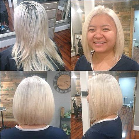 plus size angled bob 25 best ideas about round face bob on pinterest round