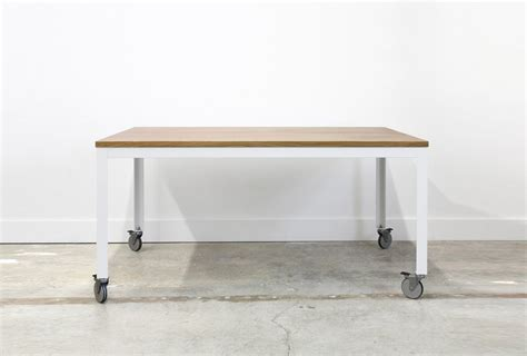 dining table on wheels 10 easy pieces dining tables on wheels remodelista
