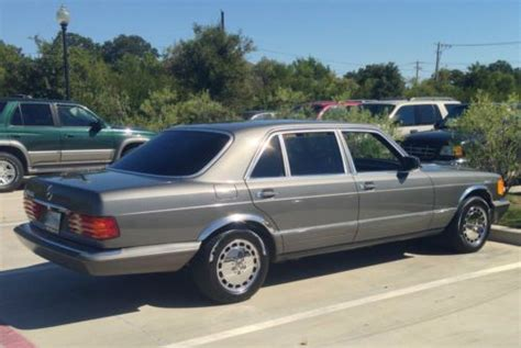how cars work for dummies 1984 mercedes benz s class on board diagnostic system buy used 1984 mercedes benz 500sel in dallas texas united states for us 5 500 00