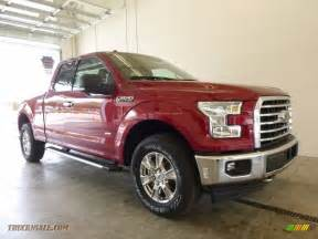 Ford Ruby 2017 Ford F150 Xlt Supercab 4x4 In Ruby For Sale