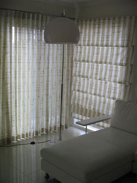 roman blinds with matching curtains rob larson s curtains and interior decor