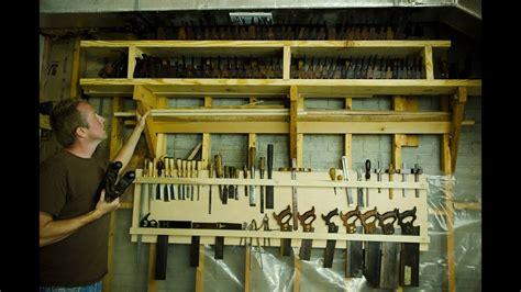 woodworking hand tool storage board youtube