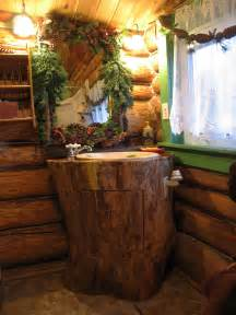 Bathroom Accessories For Log Homes Log Cabin Bathroom 187 Bathroom Design Ideas