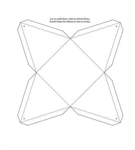 triangle box template 10 free pdf format download