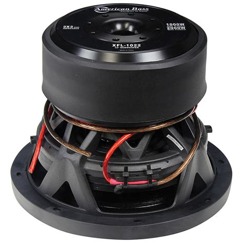 Speaker Subwoofer American new american bass xfl1022 10 quot dvc 2000w car audio subwoofer 10in sub woofer 110844351265 ebay