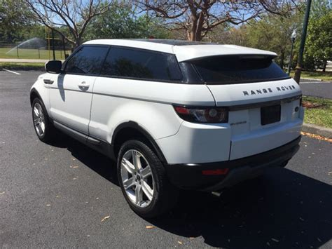 used 2012 range rover evoque 2012 used land rover range rover evoque plus at a
