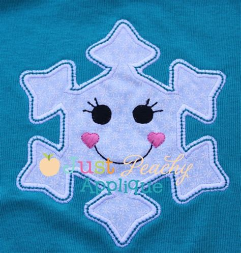 snowflake pattern for applique snowflake applique design