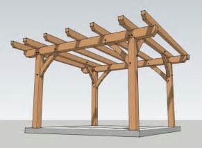 How To Build A Platform Bed by Pergola Plans 20 X 12 Plans Diy How To Make Six03qkh