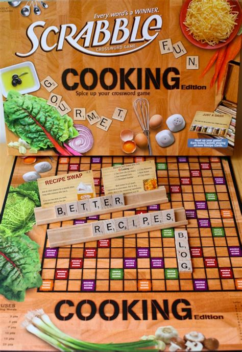 i want to play scrabble you played quot cooking quot scrabble it s so much