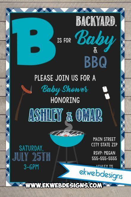 backyard baby shower invitations 25 best ideas about backyard baby showers on pinterest