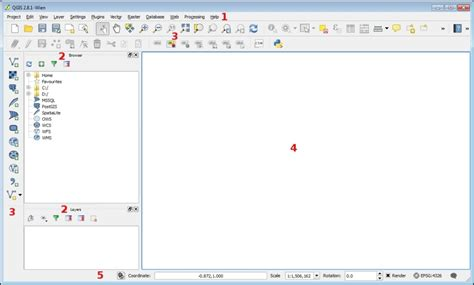 qgis tutorial english gui elements and customization qgis by exle book