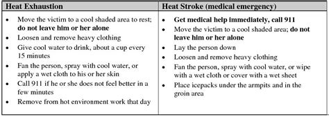 what to do when is in heat weather work safety heat exhaustion and heat stroke minnesota workers