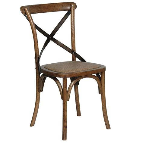 X Back Dining Chair Oak Steel X Back Dining Chair Mulberry Moon