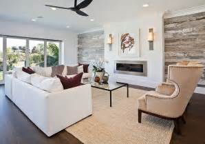Shiplap Living Room Wall Interior Design Ideas Relating To Benjamin Paint