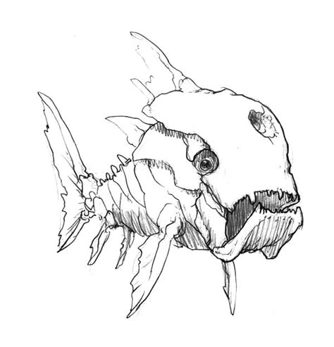 monster fish coloring pages deep sea monster fish tripod fish coloring pages color luna