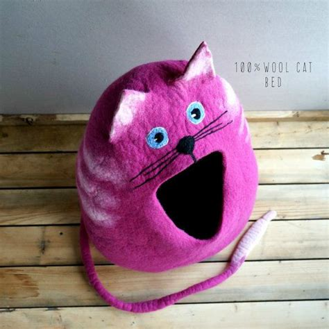 sewing pattern cat cave 79 best felted wool cat bed cat house images on pinterest