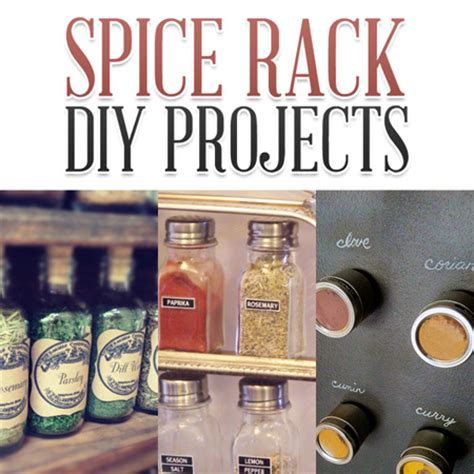diy spice rack diy project aholic spice rack diy projects the cottage market