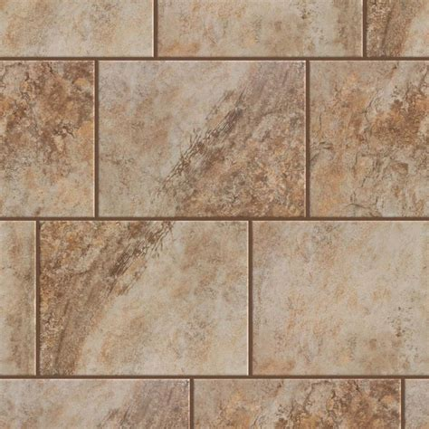 shop style selections mesa beige porcelain floor and wall