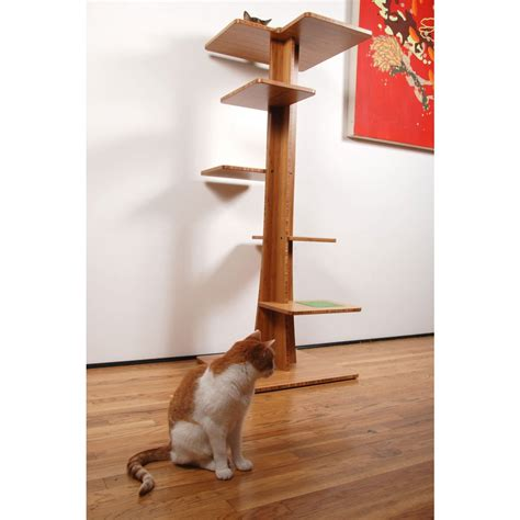 stylish cat tree modern cat tree modern cat tree by danchanand on etsy pet boy cat furniture modern cat