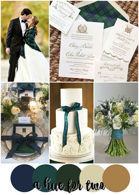 navy blue wedding color schemes 25 best ideas about tartan wedding on green