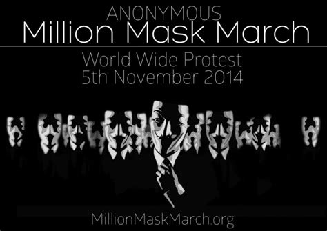 anonymous africa the hackers who are taking on south anonymous million mask march is on november 5 effect