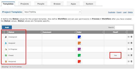 workflow status managing item workflow gemini documentation
