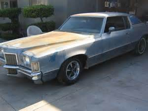 1972 Pontiac Grand Prix For Sale Sell Used 1972 Pontiac Grand Prix Sj In Monrovia