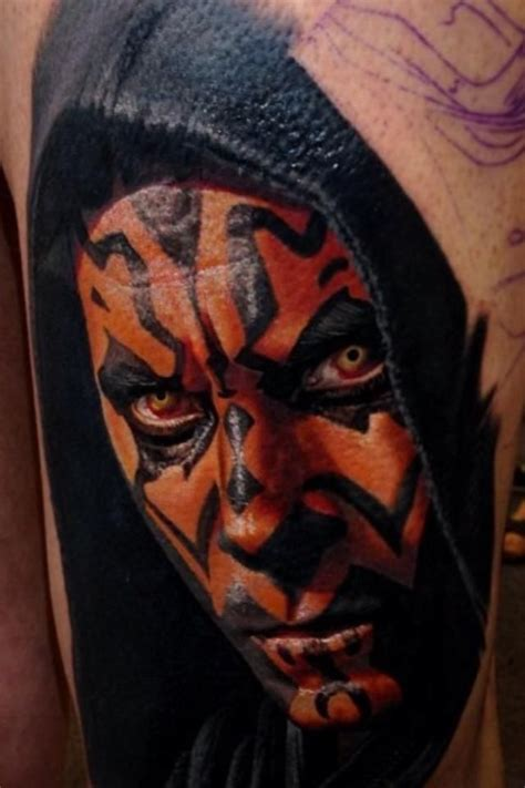 darth maul tattoo design amazing darth maul