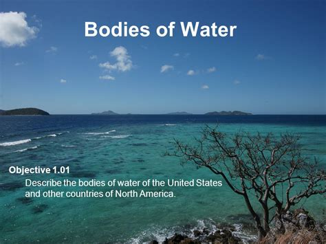 bodies of water bodies of water objective ppt video online download